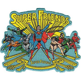 Patch - DC Comic - super Friends Group Iron On Licensed Gifts Toys p-dc-0019