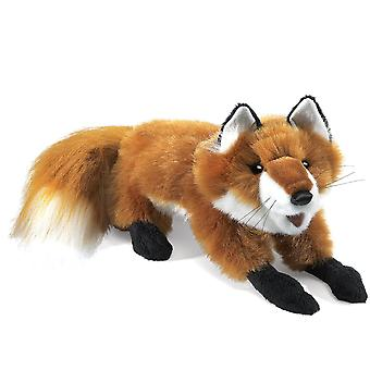Hand Puppet - Folkmanis - Fox Red Small New Animals Soft Doll Plush Toys 2576