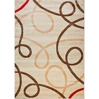 Дизайнерский ковер высочайшего качества из слоновой кости/бежевого