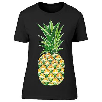 Ananas. Cartoon Style Tee Women's -Image by Shutterstock