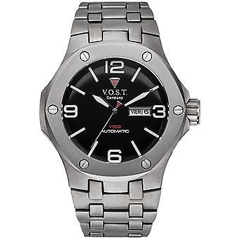 V.O.S.T. Germany V 100.017 Titanium automatic men's Watch 44mm