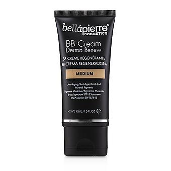 Bellapierre Cosmetics Derma Renew BB Cream SPF 15 - # Medium 40ml/1.5oz