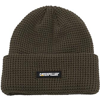 Caterpillar Unisex Grid Watch Cap Moss