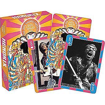 Jimi Hendrix Deck af 52 spille kort (nm)
