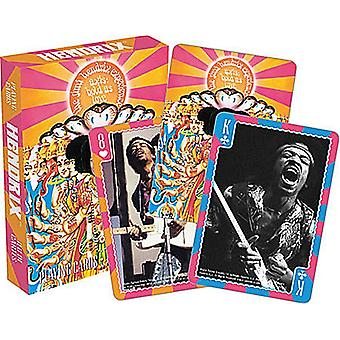 Jimi Hendrix Deck mit 52 Spielkarten (nm)