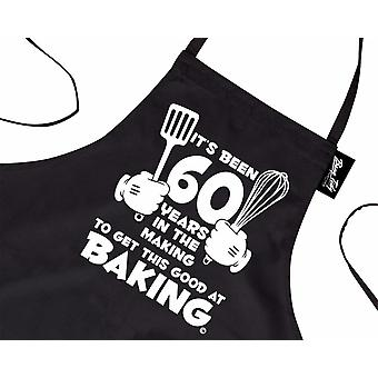 Novelty Printed Apron 60 Years Baking 30th Birthday Baking Gifts