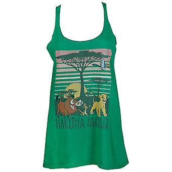 Leeuwenkoning Hakuana matata Women's Green Tank Top