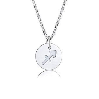 Elli Silber Anhänger Halskette 0109162117_45