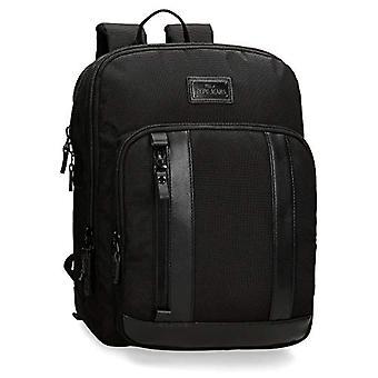 بيبي جينز Allblack حقيبة ظهر عارضة 36 سنتيمترا 11.66 أسود (زنجي)