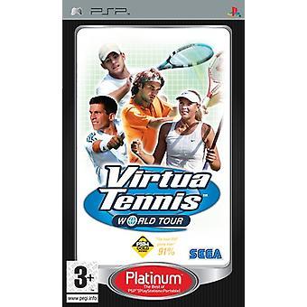 Virtua Tennis World Tour (PSP)-nytt