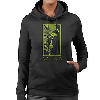 Alien Isolation Xenomorph Teeth Women's Hooded Sweatshirt