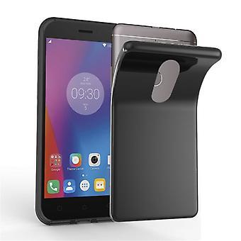 Custodia Cadorabo per lenovo K6 NOTE Case Cover - Flessibile custodia in silicone TPU Ultra Slim Soft Back Cover Case Bumper