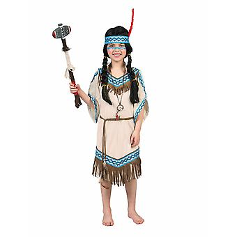 Teepee Indian Children's Costume Indian Dress Indian Girl Costume Dress Kids Filles