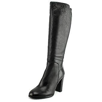 Kenneth Cole New York Womens Justin Leder geschlossene Zehe Mode kniehohe Stiefel