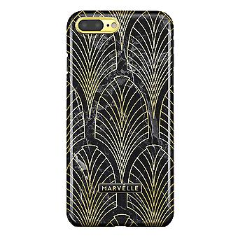 Marvêlle iPhone 7/8 Plus Magnetic Case Golden Gatsby