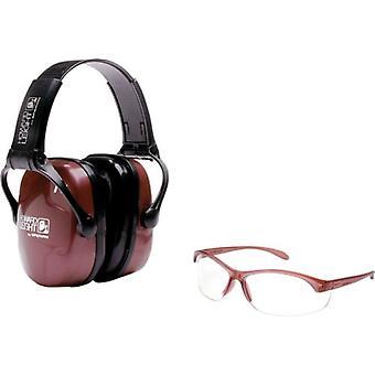 Howard Leight Frauen's Shooting Safety Combo Kit, Ohrenschützer + Brille #R-01727