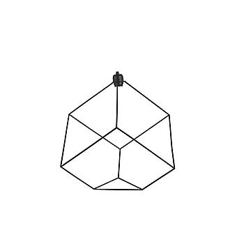 Lys & levende tabell Lamp 49 x 61 x 52 Cm JANOLA maths svart