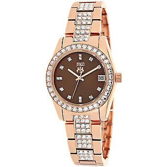 Jivago Women's Magnifique Chocolate brown Dial Watch - JV6413