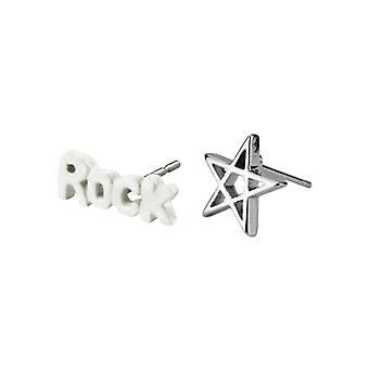Rock Star Icons Stud Earrings