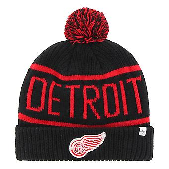 47 Brand Knit Winter Hat - CALGARY Detroit Red Wings