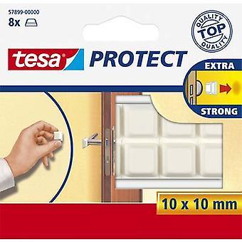 tesa Tesa ® Schutzpfuffer (L x W) 10 mm x 10 mm White Content: 8 pc(s)