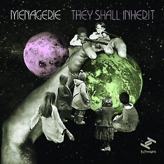 Menagerie - They Shall Inherit [CD] USA import