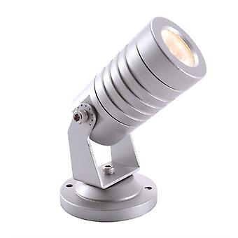 Led spotlight Mini I 2.6 W 3000 K D 42 mm de aluminio plateado regulable IP65
