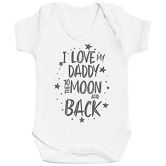 I Love My Daddy To The Moon And Back Baby Bodysuit