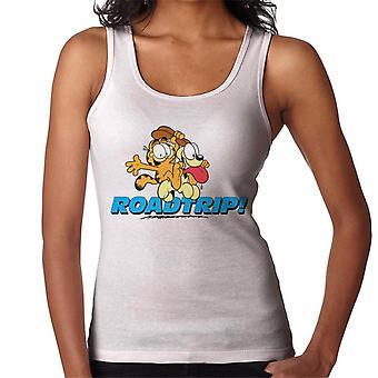 Garfield And Odie On A Roadtrip Women's Vest