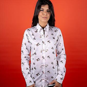CLAUDIO LUGLI WOMENSWEAR Elizabeth Fasan Print Shirt