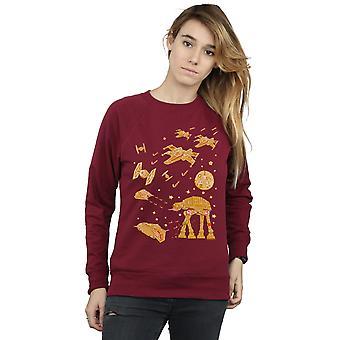 Star Wars Women's Gingerbread Battle Sweatshirt
