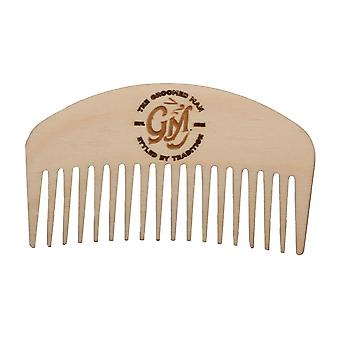 The Groomed Man Birchwood Beard Comb
