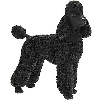 Poodle Black Leonardo Collection Home ornament stylish