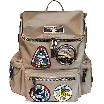 Top Gun Backpack With Patches Khaki