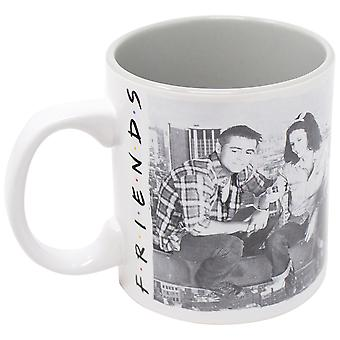 Friends Black and White 20 Oz Mug