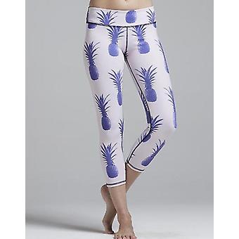 Blue pineapple legging
