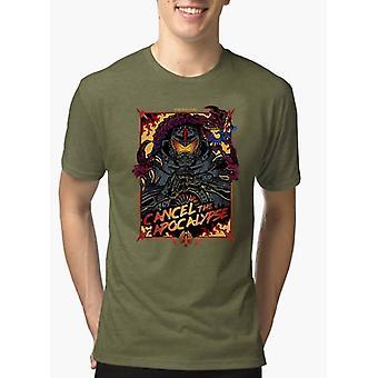 Annullare il melange di Apocalisse mezza maniche t-shirt