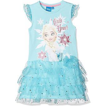 Disney Girls mrazené dievčatá Fancy krátky rukáv šaty