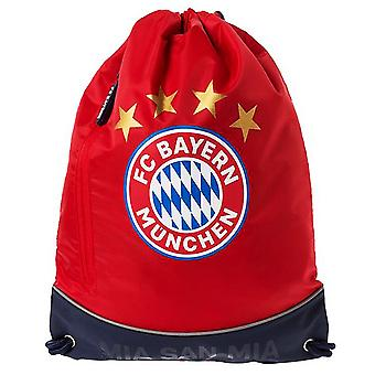 FC Bayern Munich Crest Drawstring Gym Bag