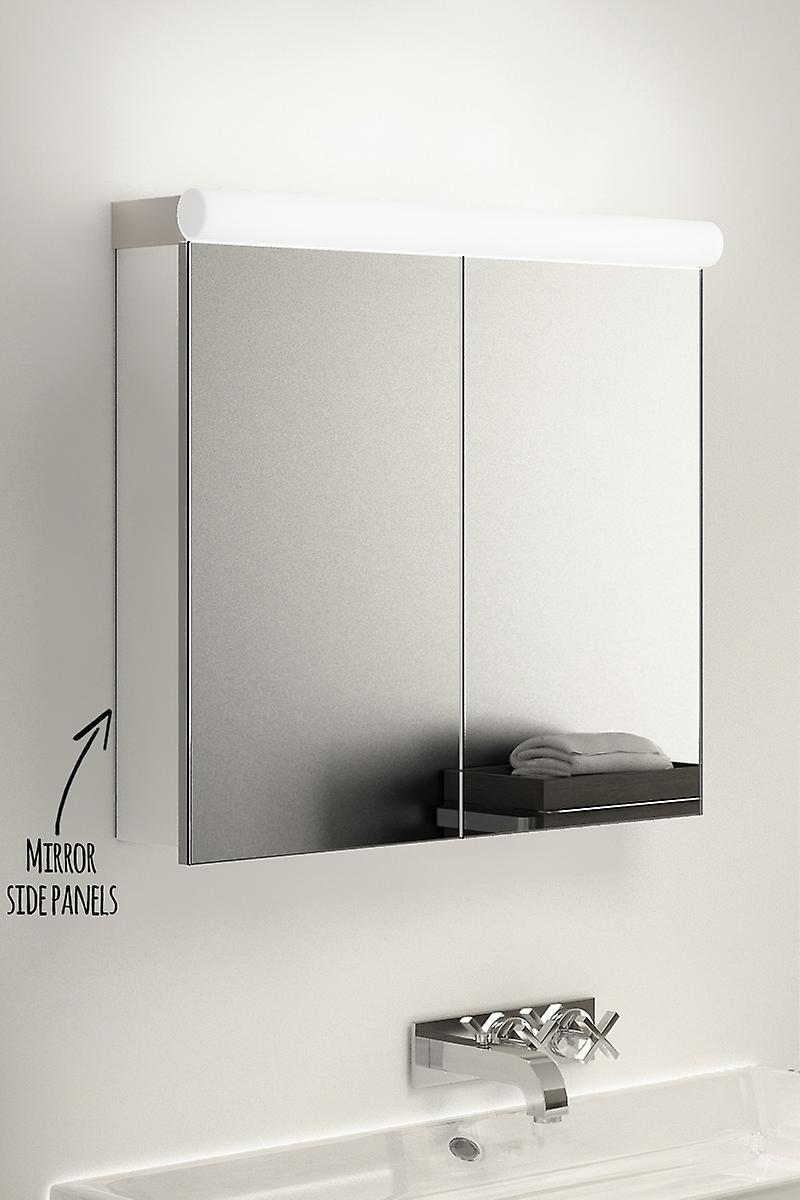 Vega Top Light Diffuser Cabinet with Sensor, Shaver & Demister k504