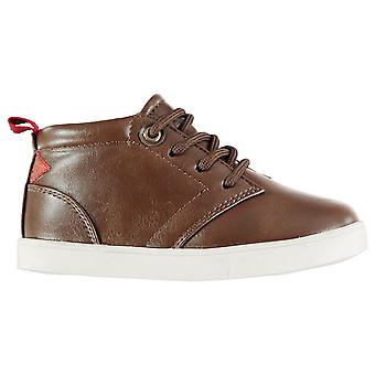 Soviet Kids Whitehall Mid Chukka Boots Lace Up Contrast Sole Shoes Infant Boys
