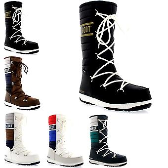 Womens Tecnica Original Moon Boot Quilted Waterproof Snow Winter Mid Calf Boots