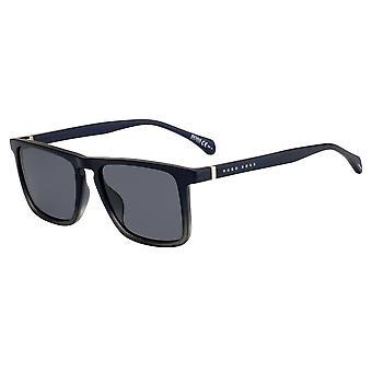 Hugo Boss 1082/S 26O/IR Blue Pattern/Grey Sunglasses
