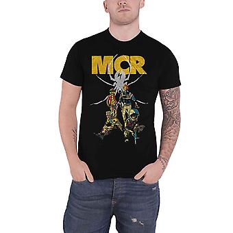 My Chemical Romance T Shirt killjoy Pin Up Band Logo nouveau officiel Mens Black