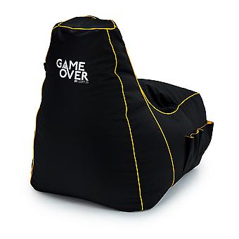 Scorpion Chain Game Over 8 Bit Kids Gaming High Back Chair Bean Bag Children's Gamer Xbox PS4