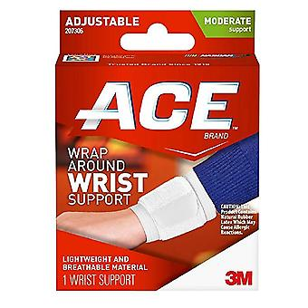 Ace wrap around wrist support, moderate suuport, 1 ea