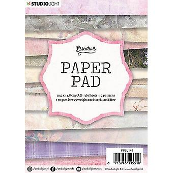 Studio Light 170gsm Paper Pad A6 36/Pkg-NR. 144, 12 Designs/3 Each