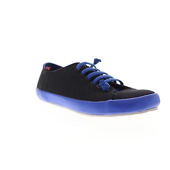Camper Peu Rambla Vulcanizado  Mens Black Canvas Low Top Sneakers Shoes