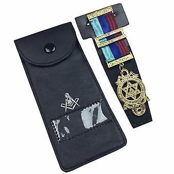 Quality masonic regalia pocket jewel holder / wallet masonic carry case