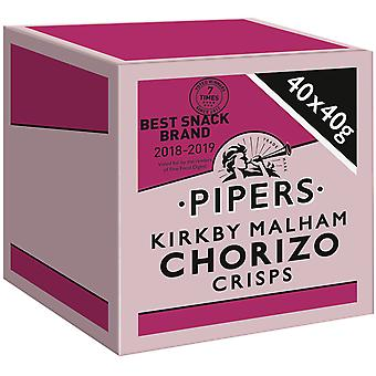 Pipers Kirkby Malham Chorizo Crisps